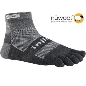 Injinji OUTDOOR MidWeight MiniCrew Wool