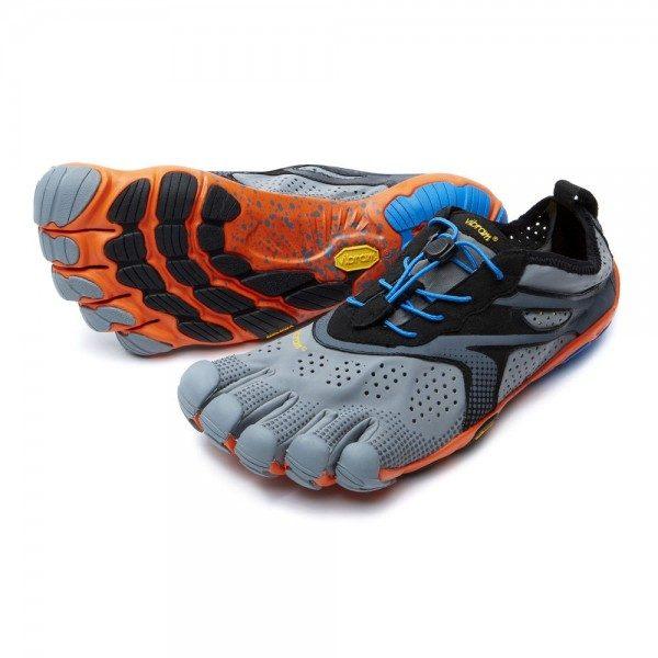 v run grey orange