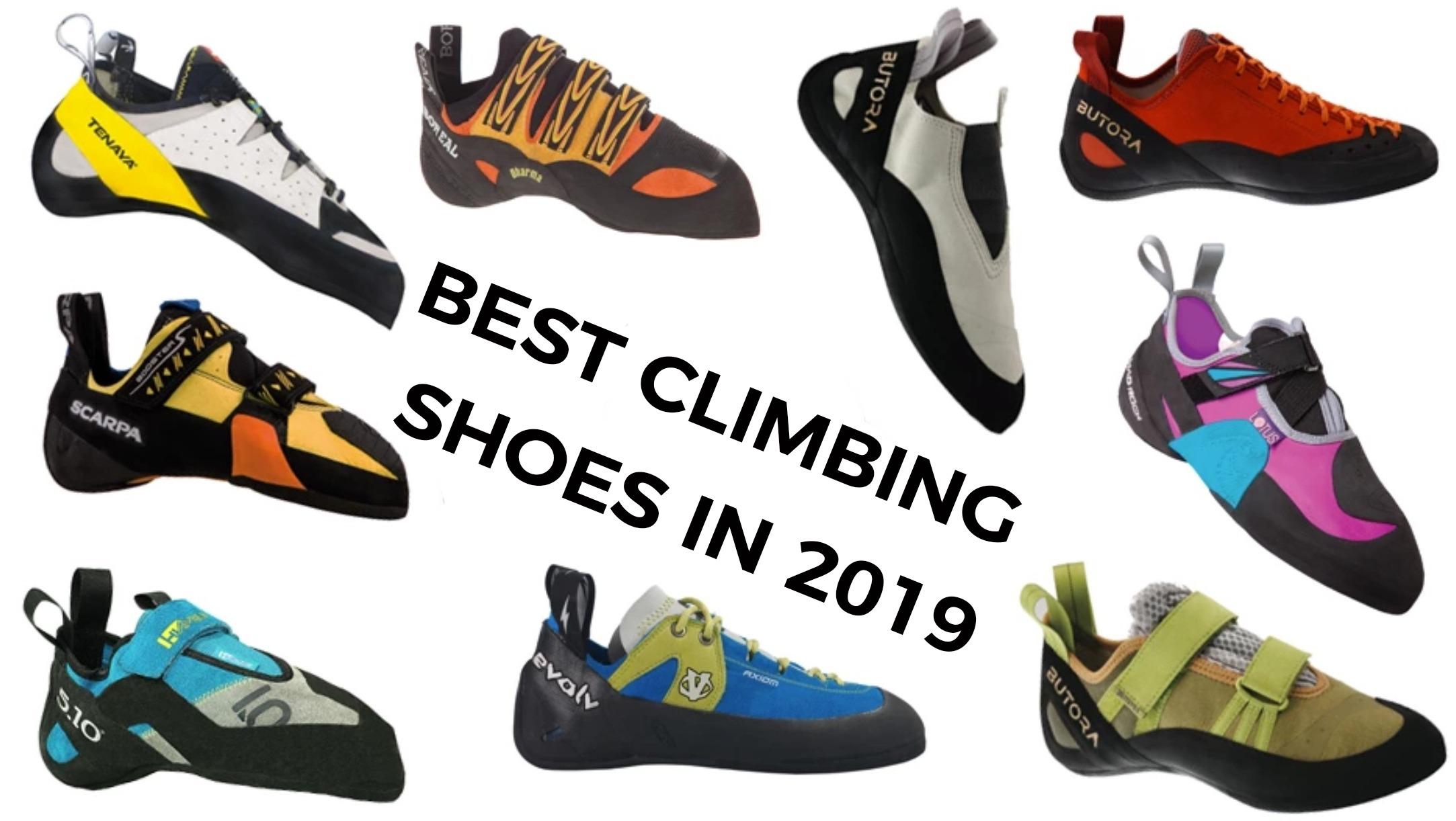 4 Best Rock Climbing Shoes [2019